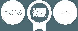 Xero Logo Platinum