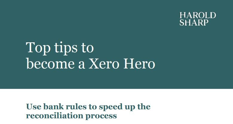 Setting up bank rules