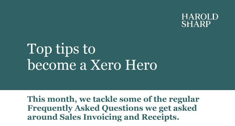 FAQs Sales invoicing and receipts